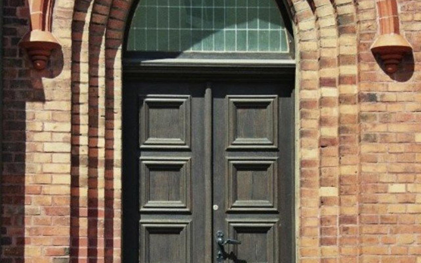 Klosterkirche-Eingangsportal, Foto: MuT Guben