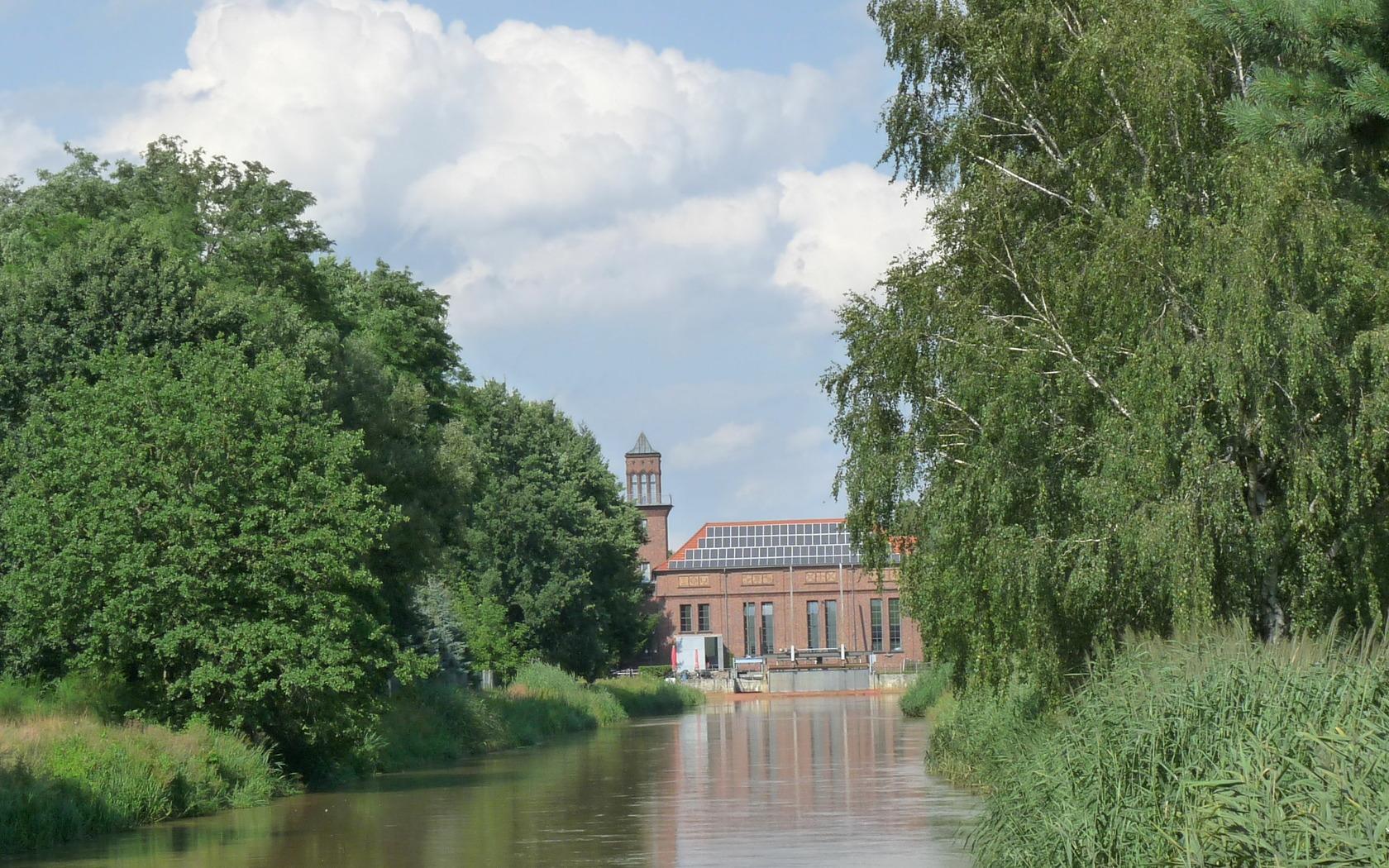 Wasserwerk Grießen-Kraftwerkskanal, Foto: Tourismusverband Niederlausitz e.V.