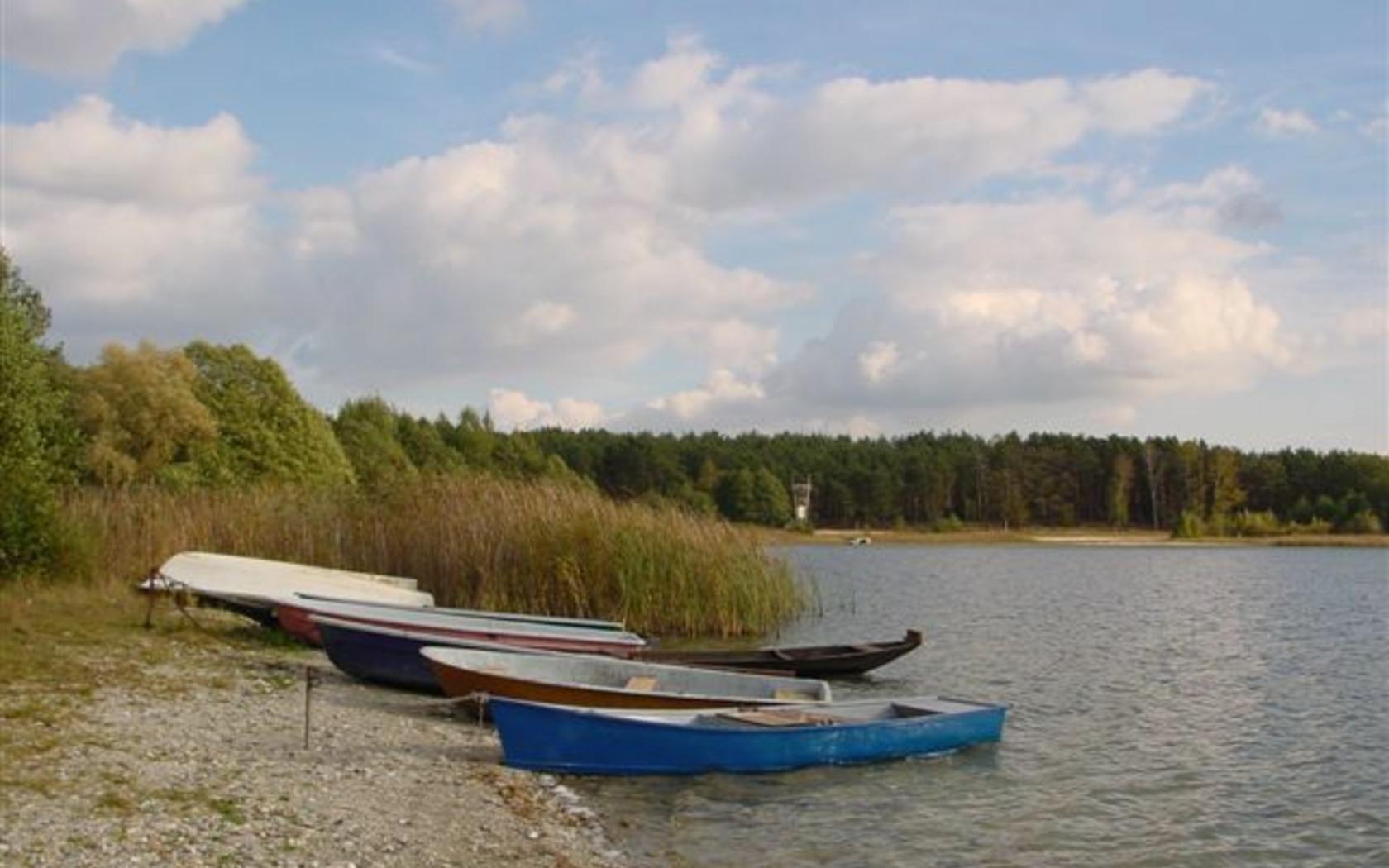 Pinnower See_Strandboot, Foto: Doreen Noack