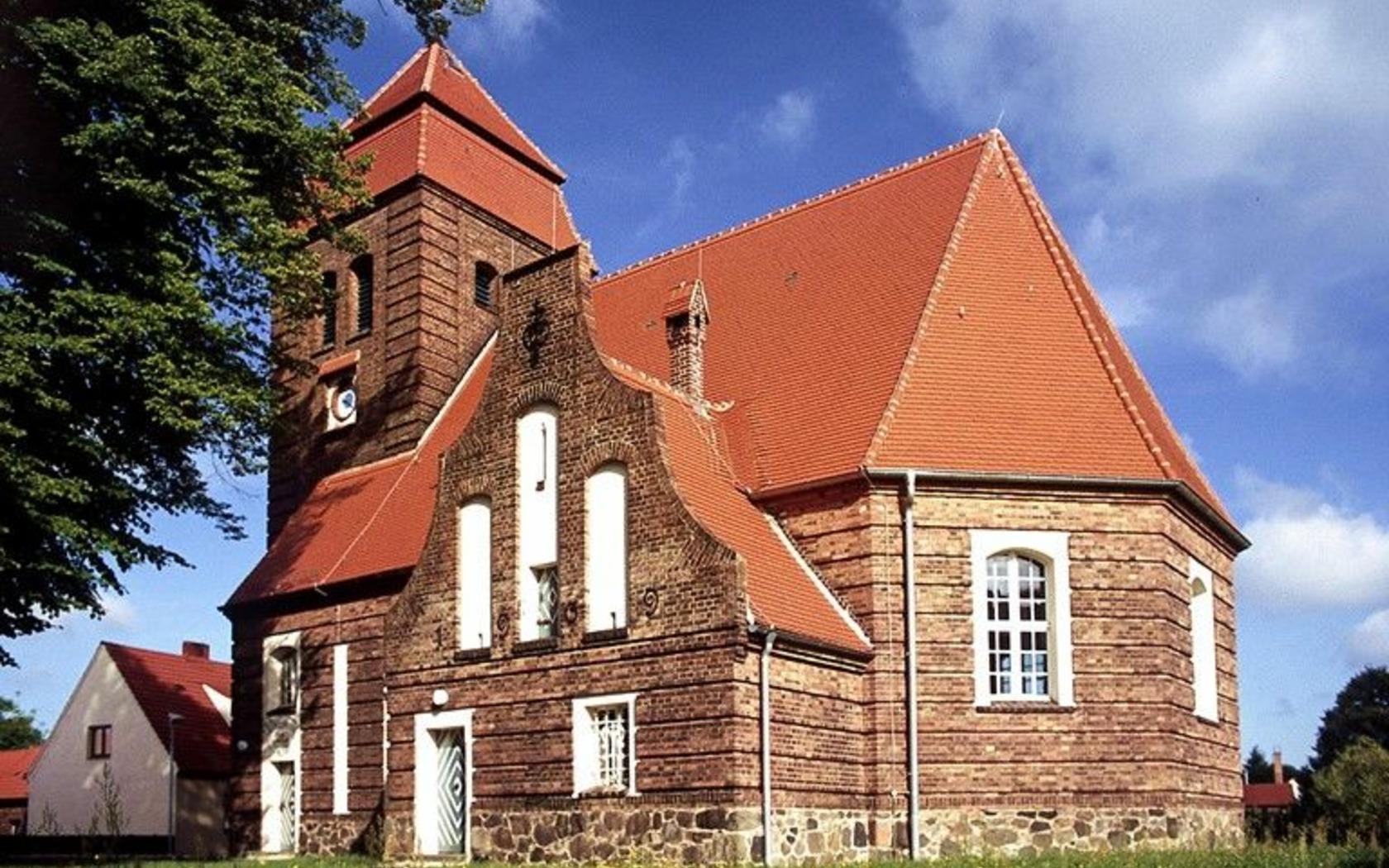 Kirche in Pinnow, Foto: Katharina Riedel