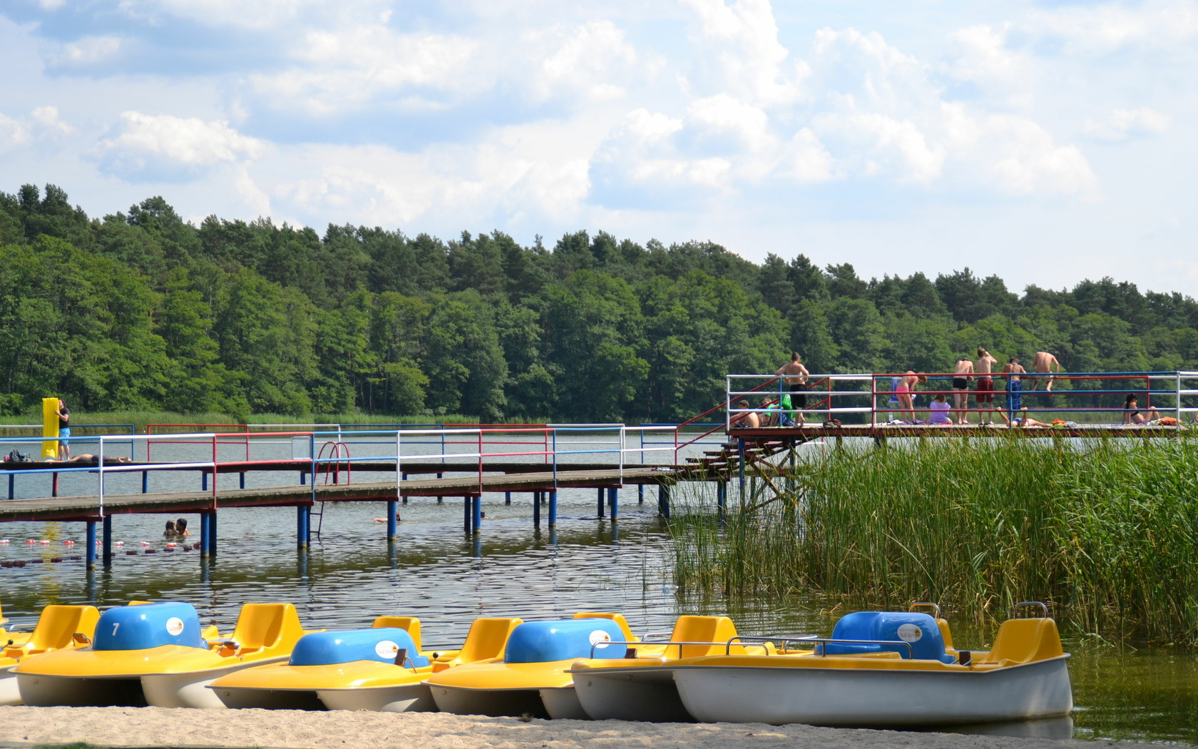 Borek See, Foto: Marketing und Tourismus Guben e.V.