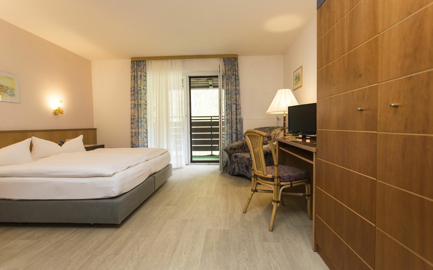Doppelzimmer mit Waldblick, Foto: MuT Guben