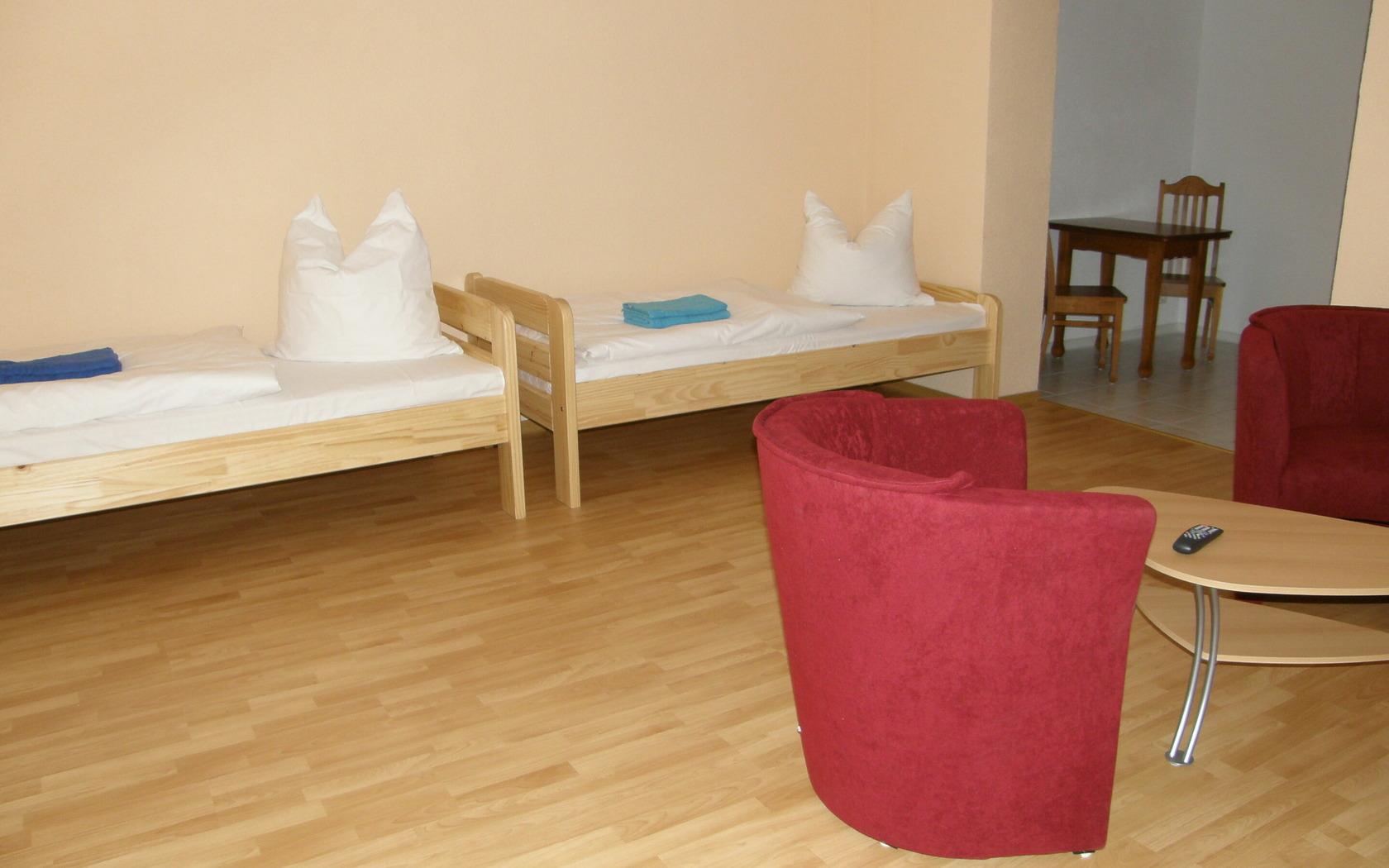 Zimmeransicht Gästewohnung Noak Guben, Foto: MuT Guben