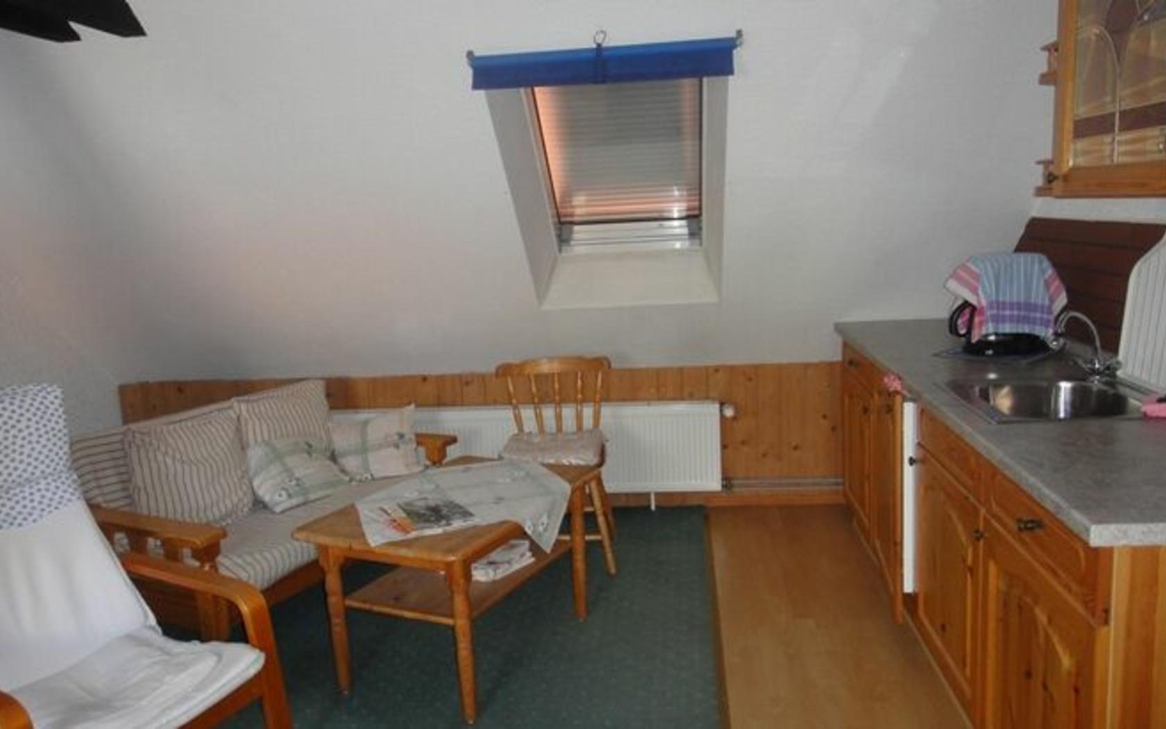 Pension Siewert, Wohn-Küchenbereich, Foto: MuT