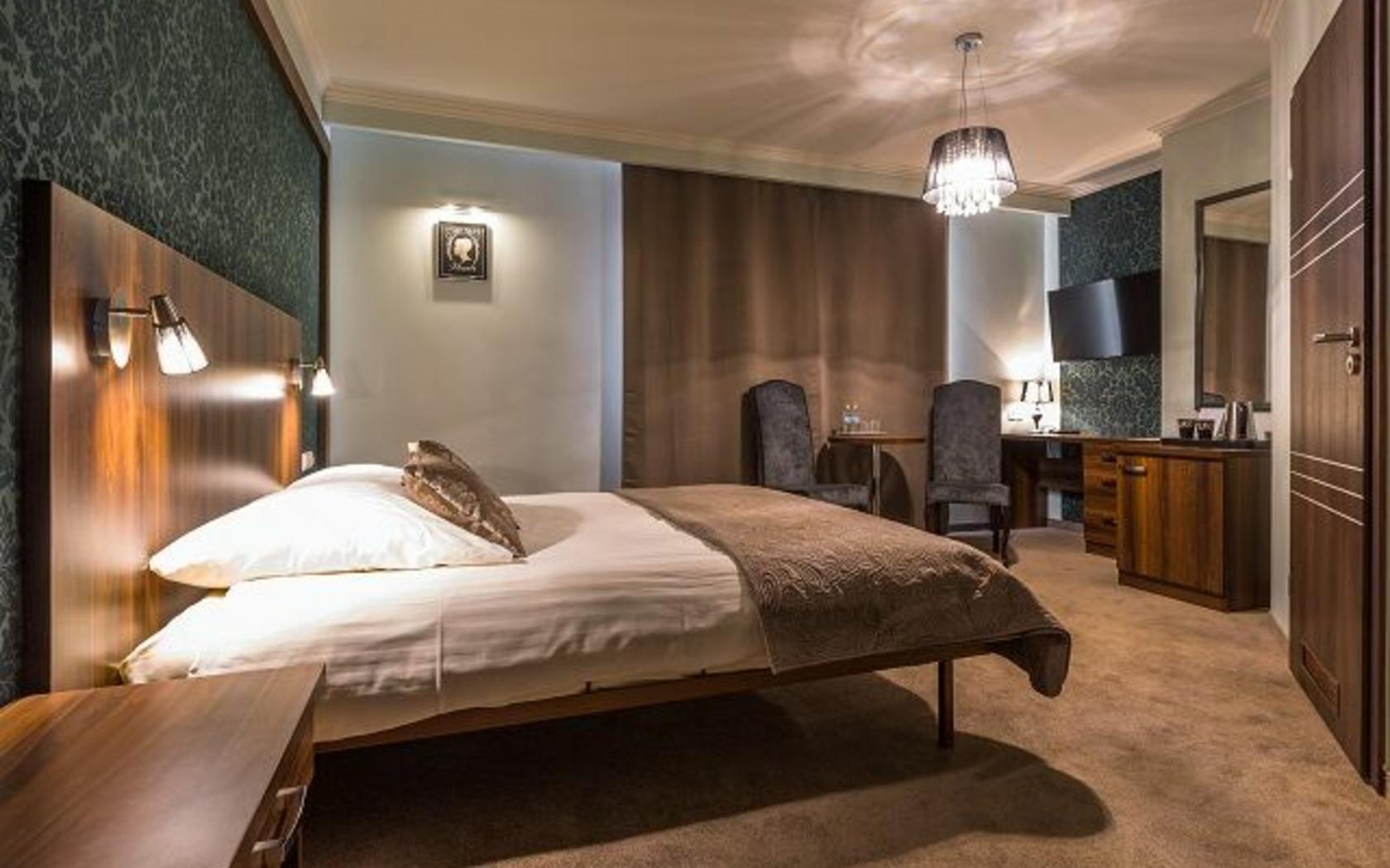 Doppelzimmer im Hotel, Foto: Marketing und Tourismus Guben e.V.