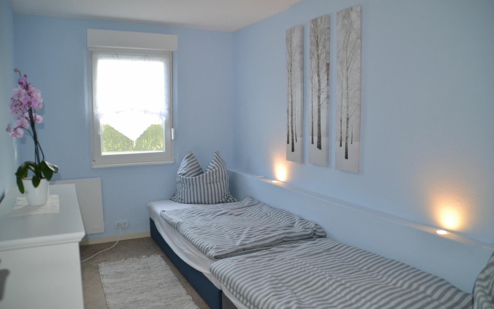 Ansicht Schlafbereich Ferienhaus Gartenidyll, MuT Guben