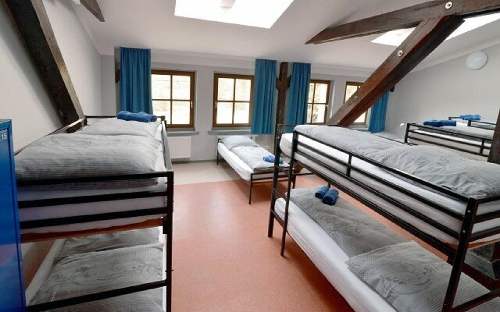 Hostel Guben, Zimmeransicht, Foto: MuT Guben