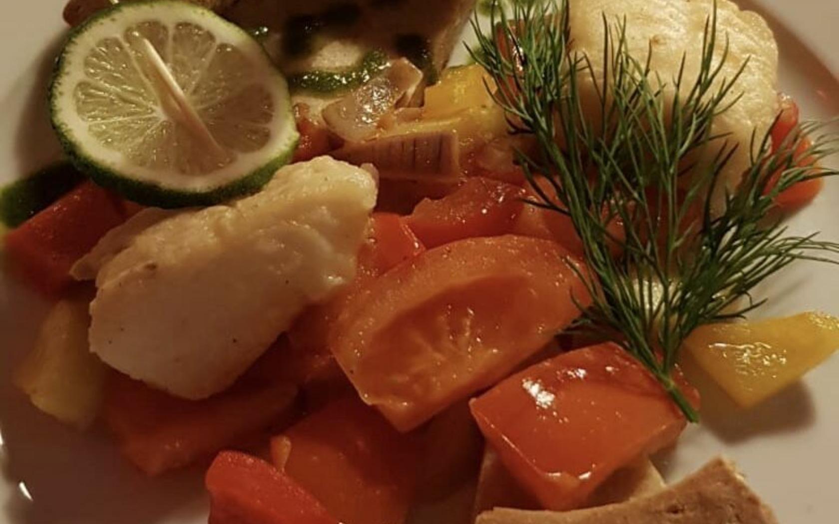 Essen im Gasthaus Flemmings, Foto: Campingplatz am Deulowitzer See