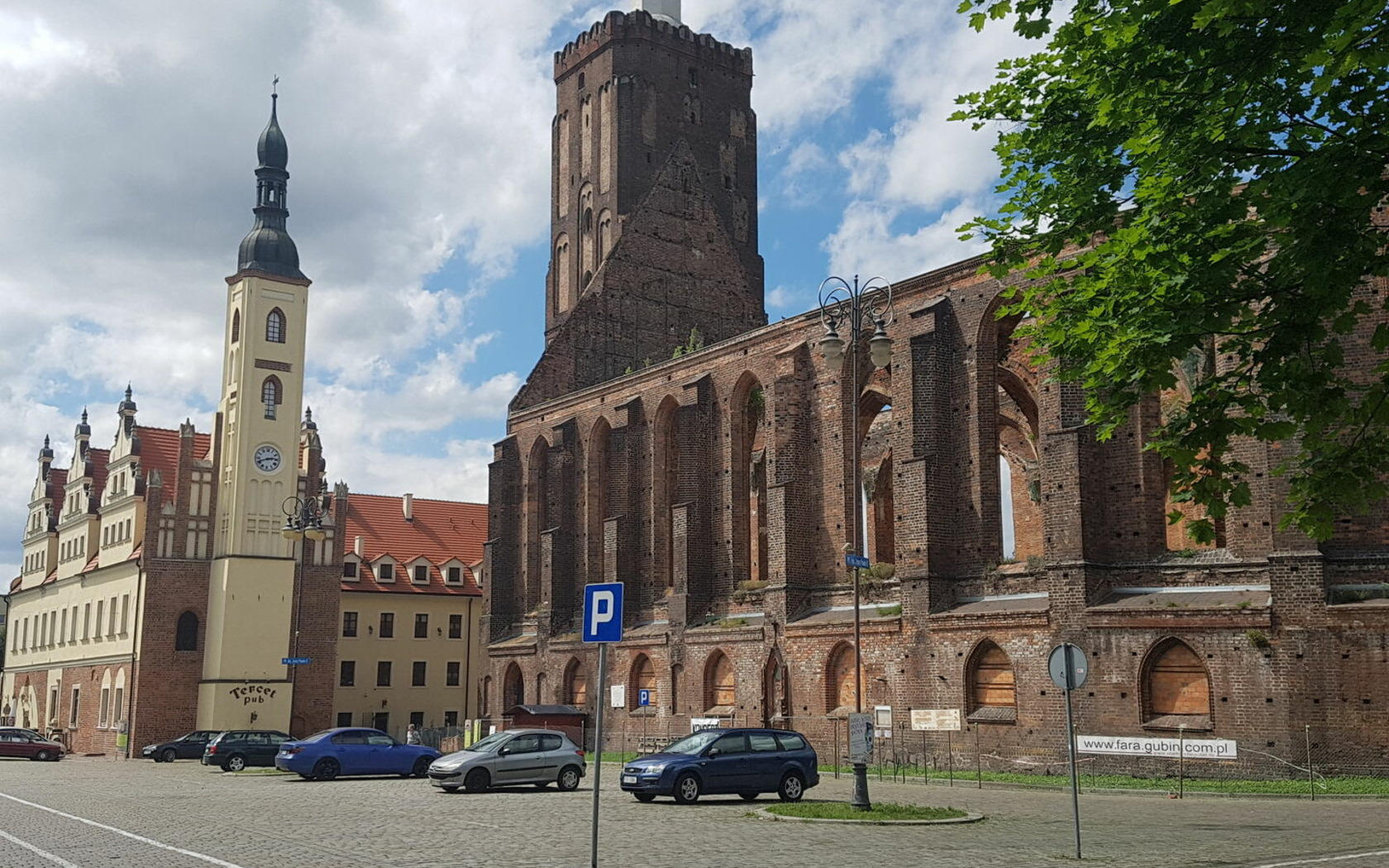Stadt- und Hauptkirche mit Kulturhaus, Foto: Marketing und Tourismus Guben e.V.