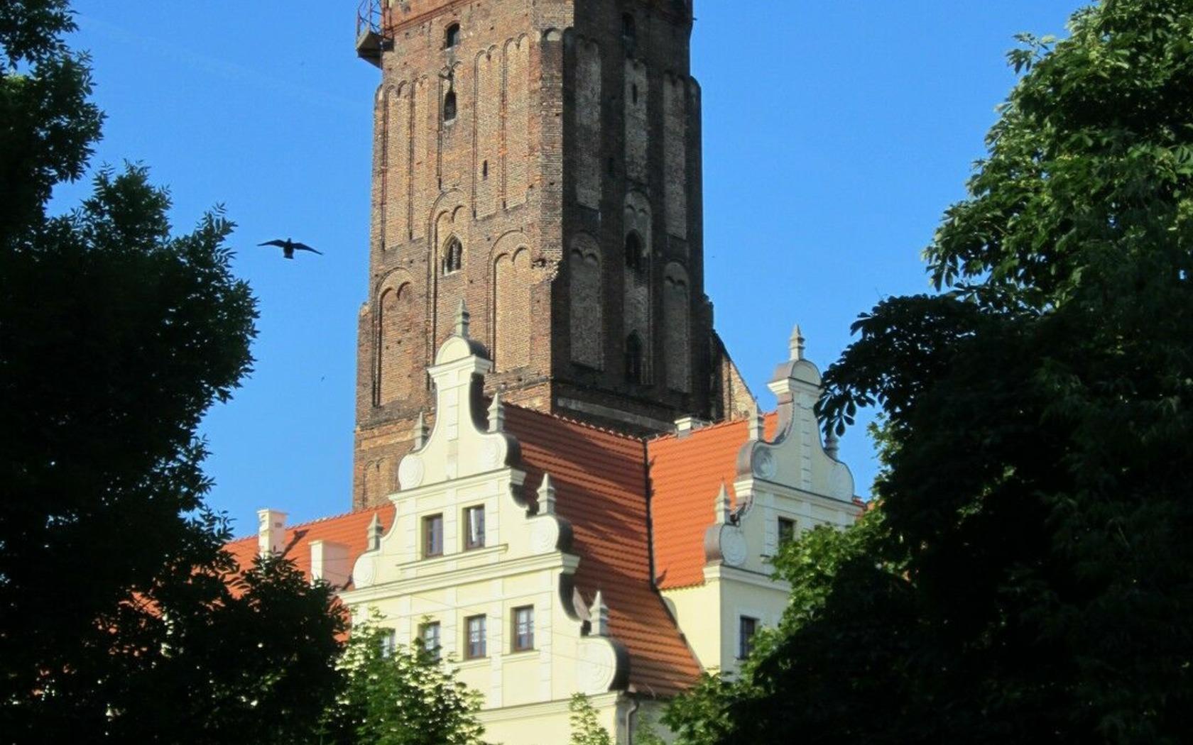 Stadt- und Hauptkirche Gubin, Foto: Marketing und Tourismus Guben e.V.