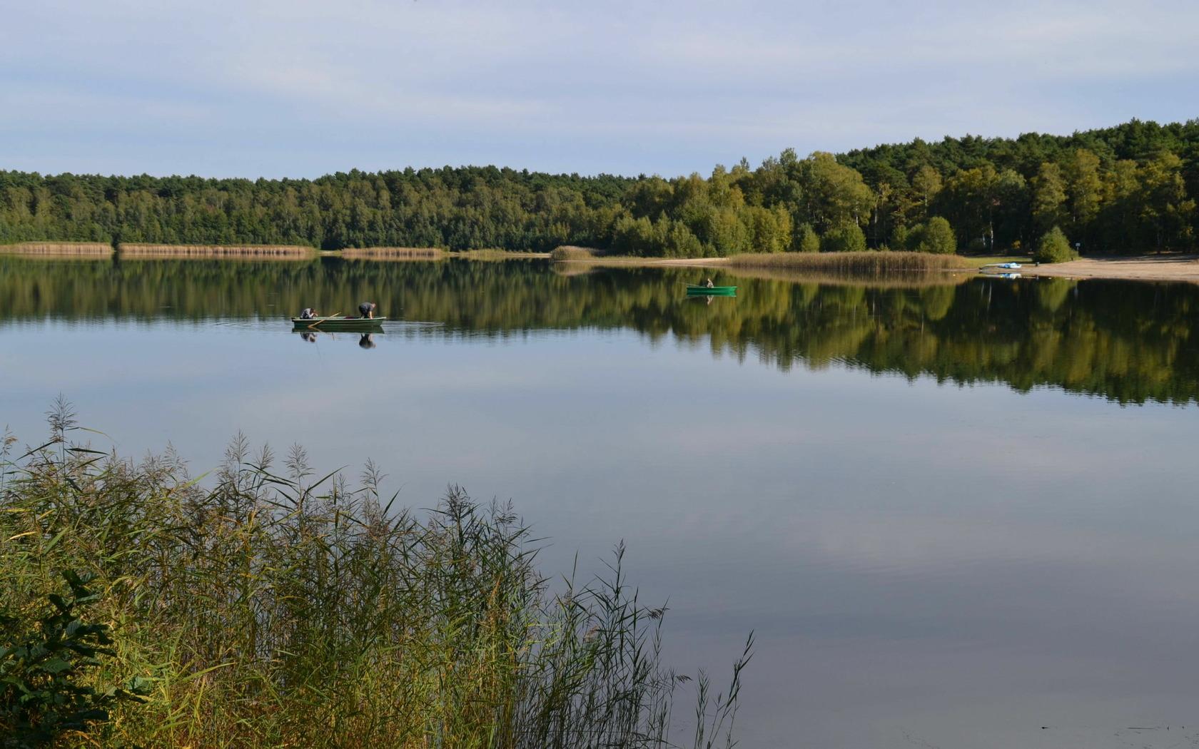 Blick auf den Deulowitzer See, Foto: MUT/ Kerstin Geilich