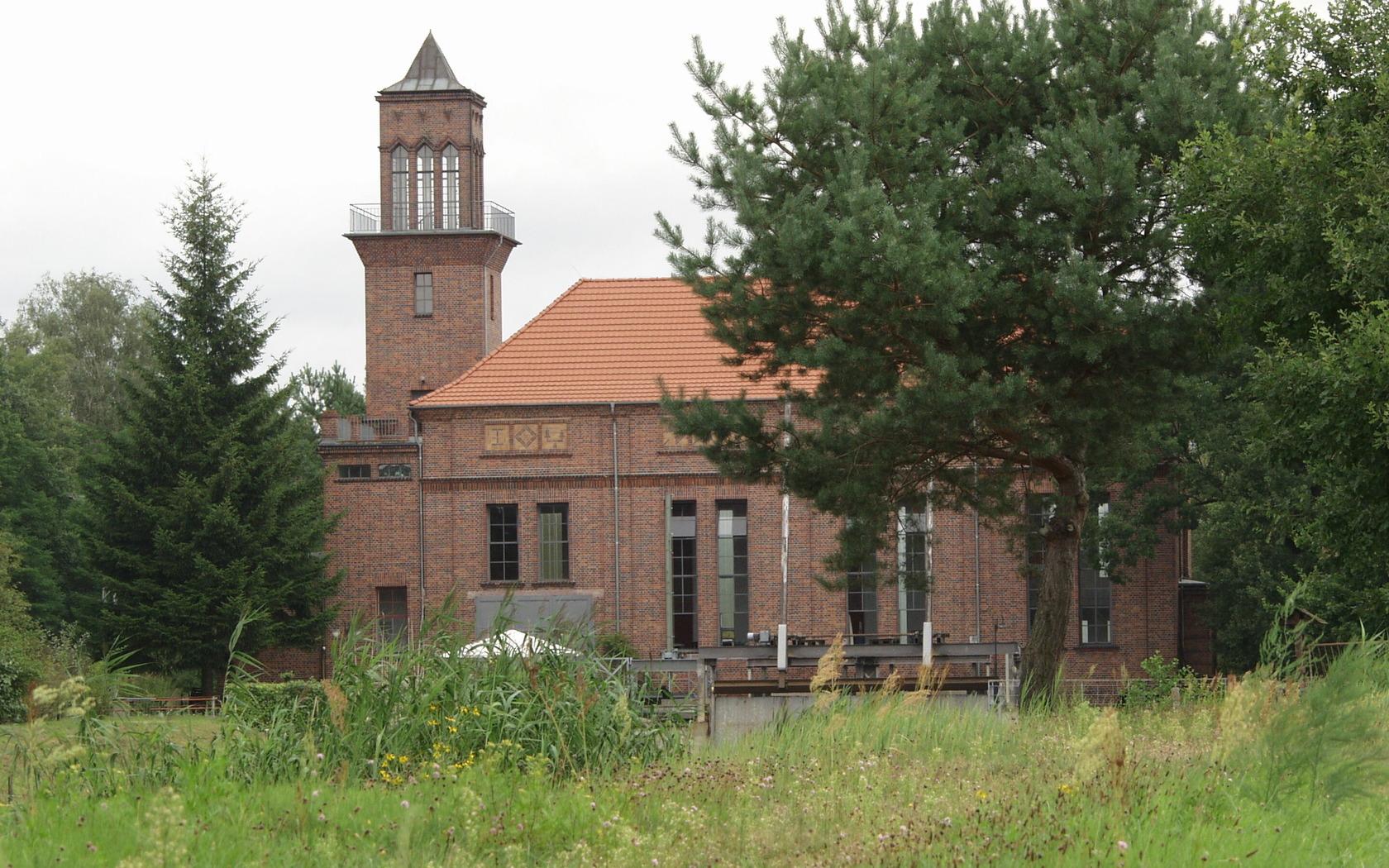 Technisches Denkmal Wasserkraftwerk Grießen, Foto: MuT Guben