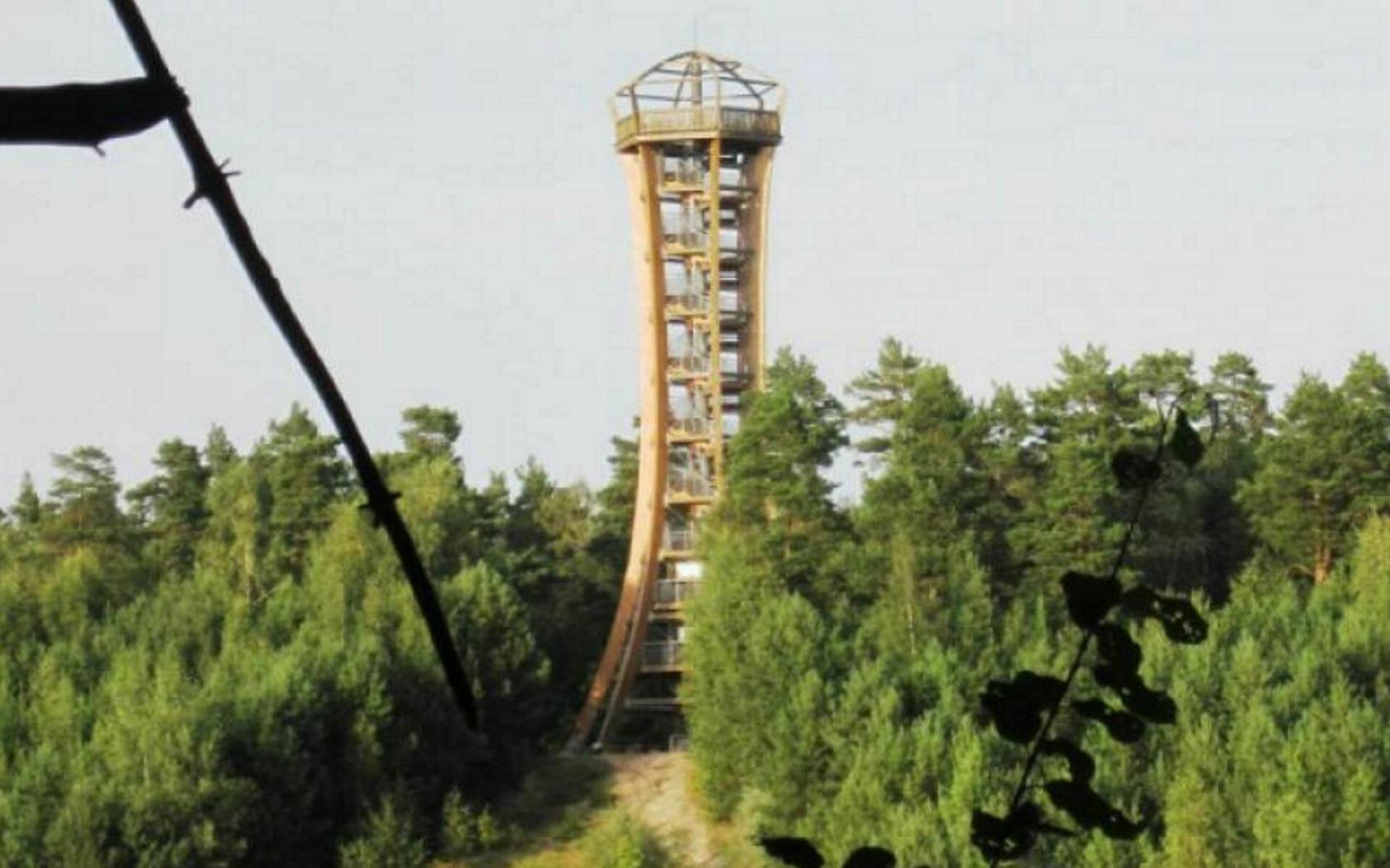 Felixturm am Felixsee, Foto: Geoparkbüro