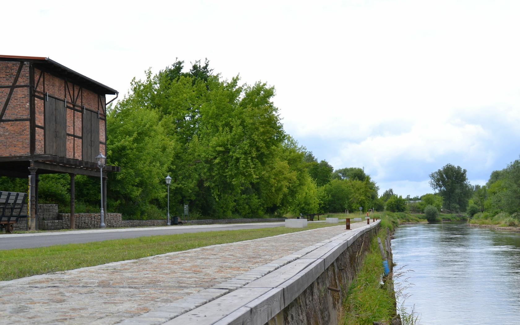 Alter Hafen, Foto: Marketing und Tourismus Guben e.V.