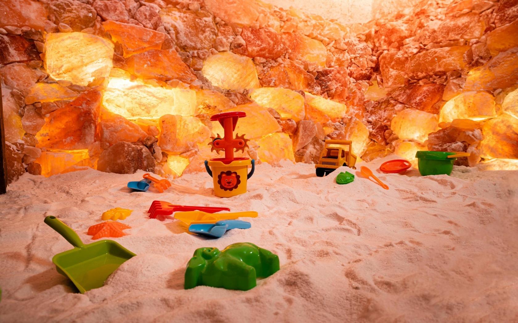 Salzgrotte für Kinder, Foto: Stefan Pache