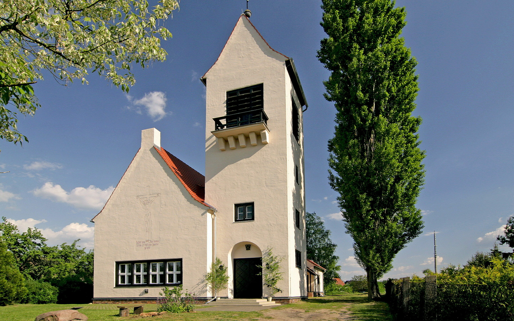Kirche Kerkwitz, Foto: Katharina Riedel