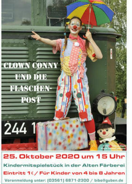 Clown Conny, Foto: Thomas Kieck, Kieck-Theater Weimar