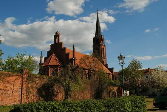 Klosterkirche Guben, Foto: Marketing und Tourismus Guben e.V.