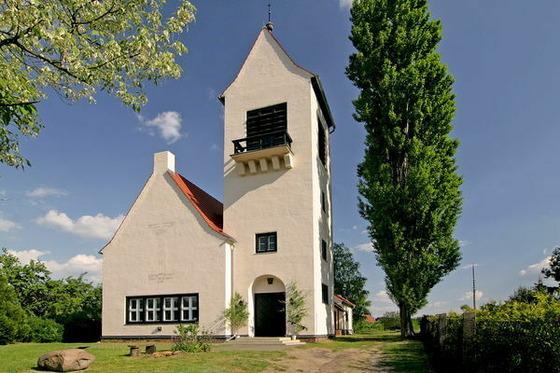 Dorfkirche Kerkwitz, Foto: MuT ― Marketing und Tourismus Guben e.V.