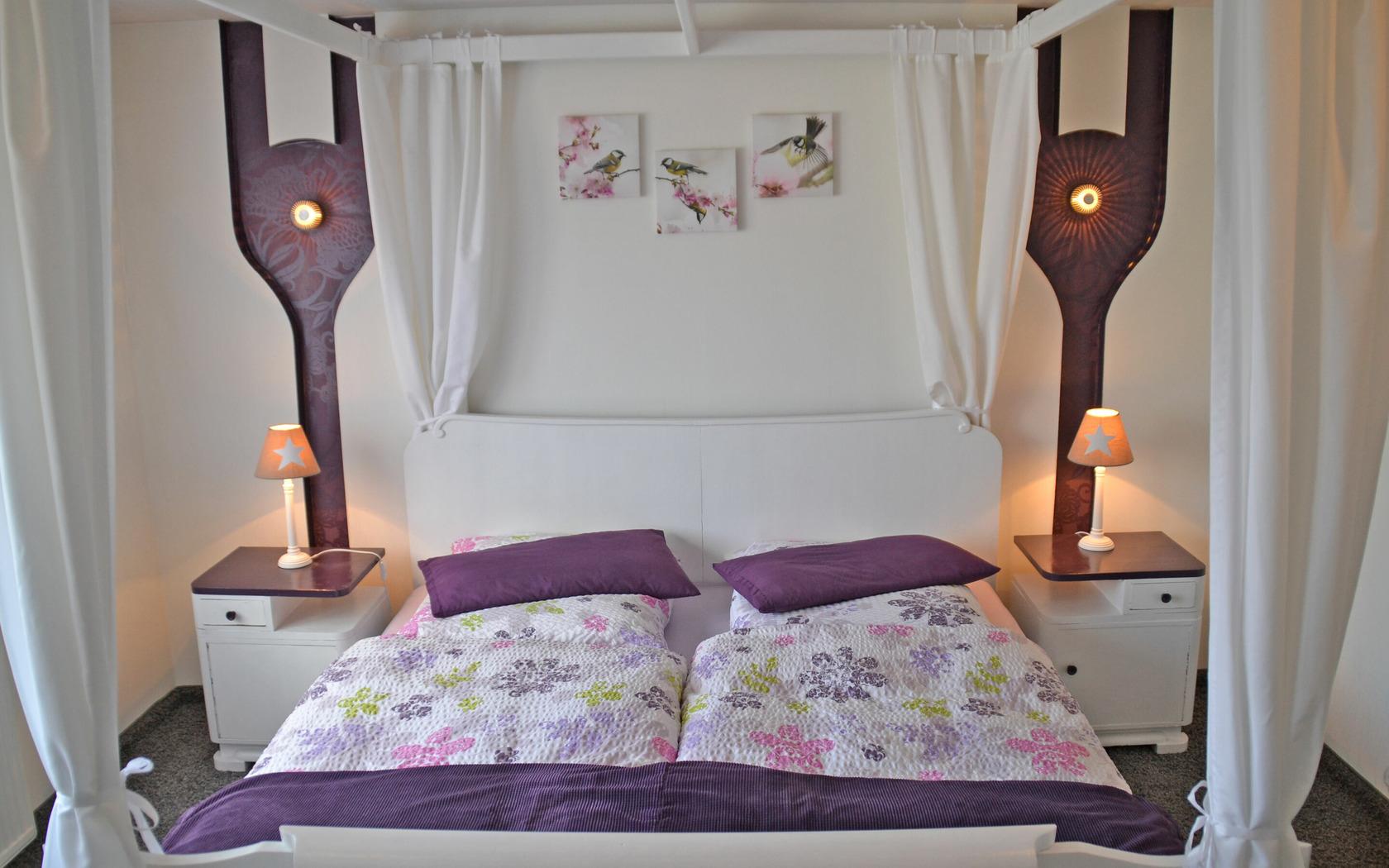 Ferienhaus Hasenland, Schlafbereich, Foto: MuT Guben, Foto: Marketing und Tourismus Guben e.V., Lizenz: Marketing und Tourismus Guben e.V.