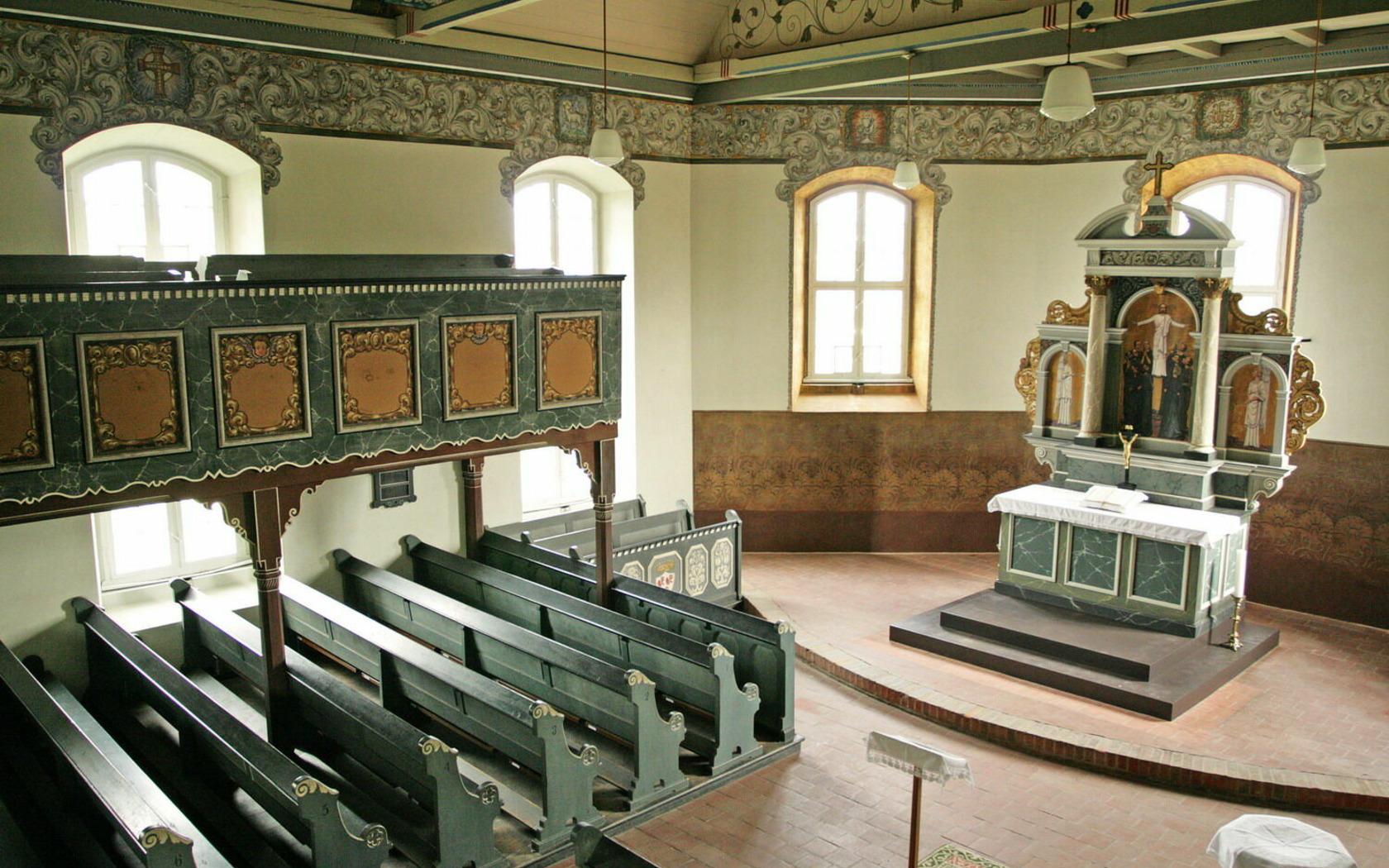 Kirche Pinnow, Foto: MuT ― Marketing und Tourismus Guben e.V., Lizenz: MuT ― Marketing und Tourismus Guben e.V.