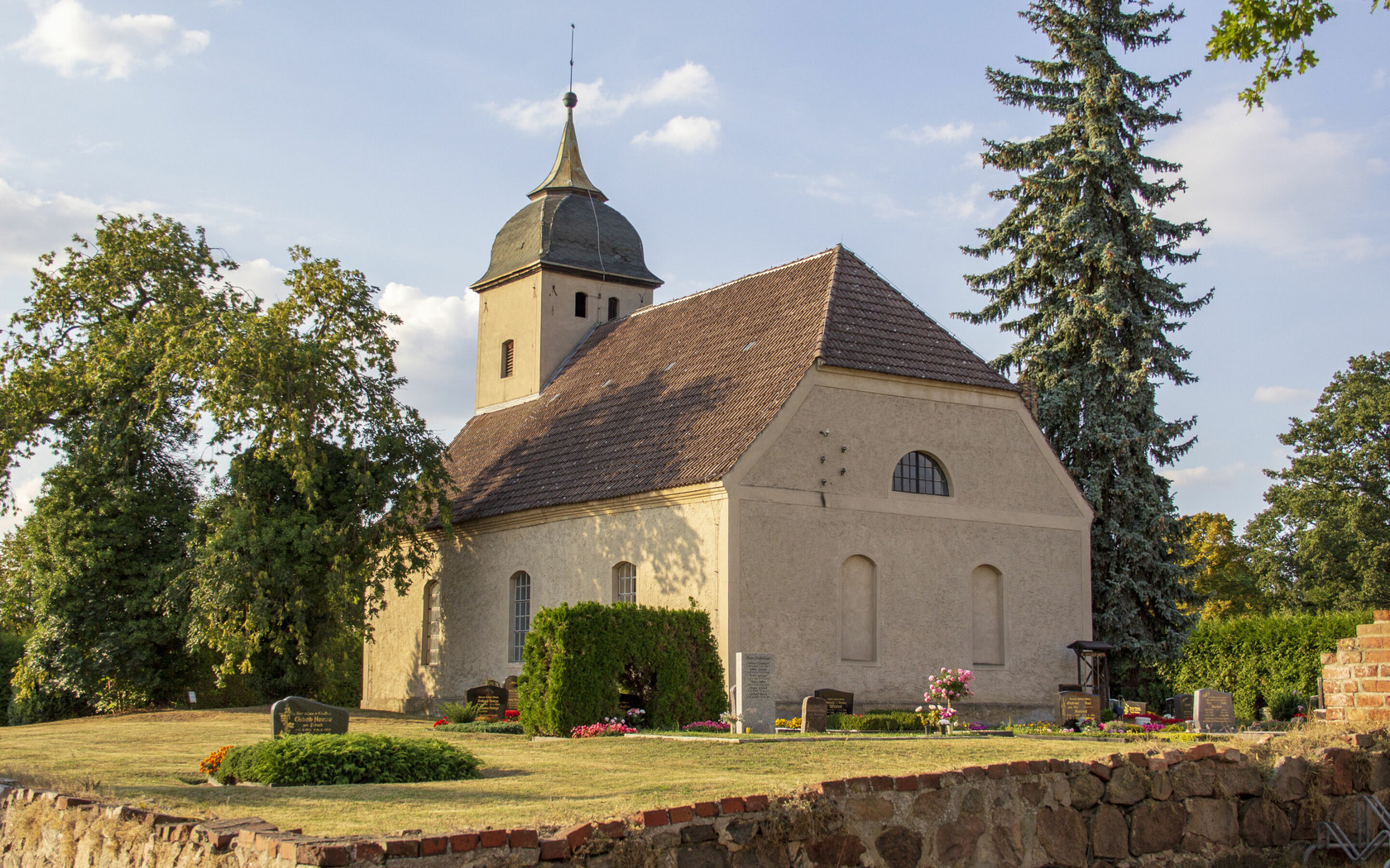 Kirche Sembten, Foto: TMB-Fotoarchiv/ScottyScout, Lizenz: TMB-Fotoarchiv/ScottyScout