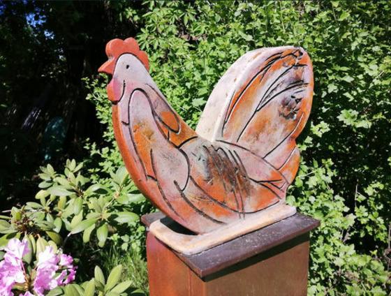 Ein Keramikwerk von Manfred Wenck. , Foto: Manfred Wenck , Lizenz: Manfred Wenck