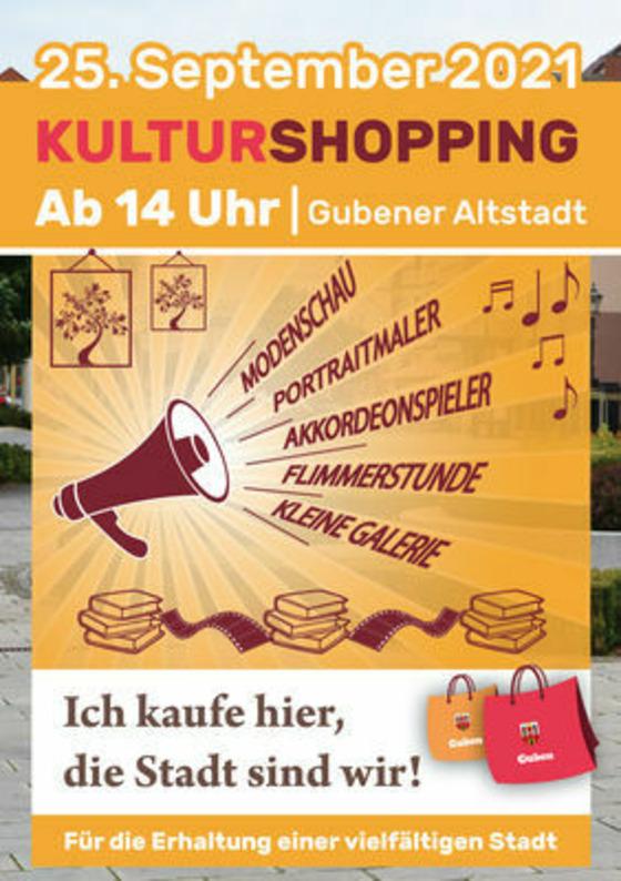 Kulturshopping, Foto: MuT ― Marketing und Tourismus Guben e.V., Lizenz: MuT ― Marketing und Tourismus Guben e.V.