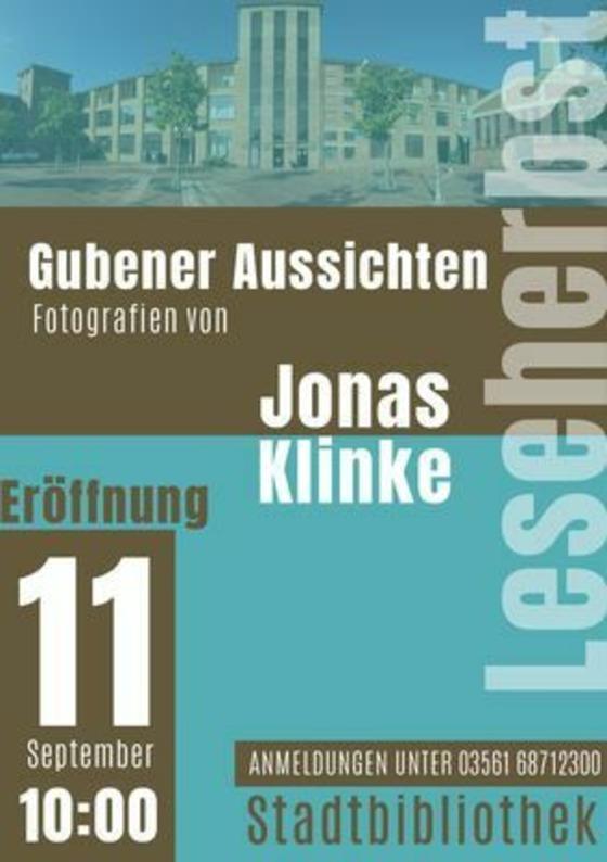 Jonas Klinke, Foto: Bibo Guben, Lizenz: Bibo Guben