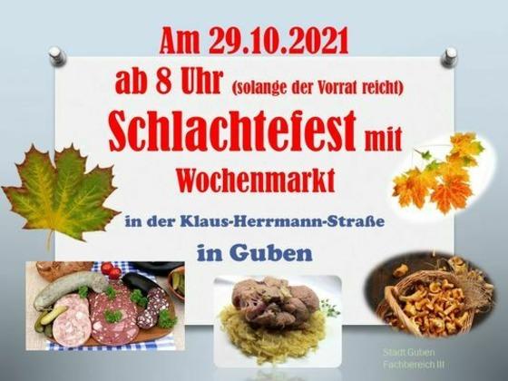 Schlachtfest, Foto: Stadt Guben, Lizenz: Stadt Guben