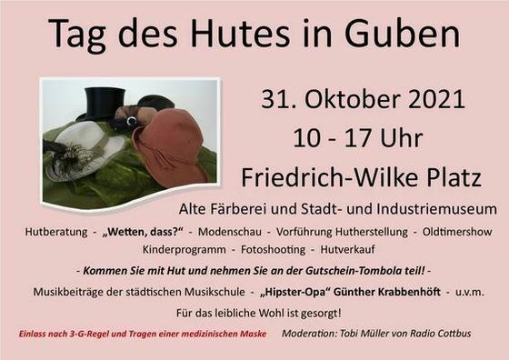 Tag des Hutes, Foto: Stadt Guben, Lizenz: Stadt Guben